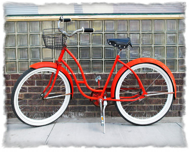 #216 Red Bicycle