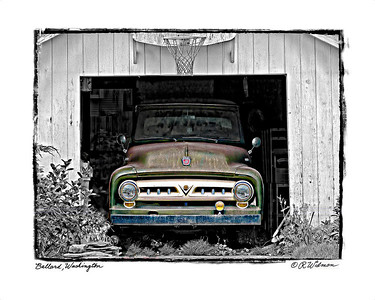 #272 Old Ford Truck