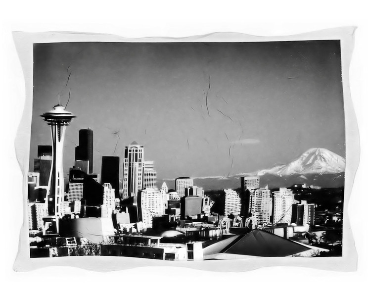 #225 Seattle Skyline
