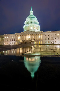 US Capitol Building in spring- Washington DC, United States