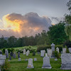 Sunrise over a final resting place