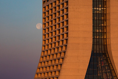 Mostly Full Moon & Wilson Hall