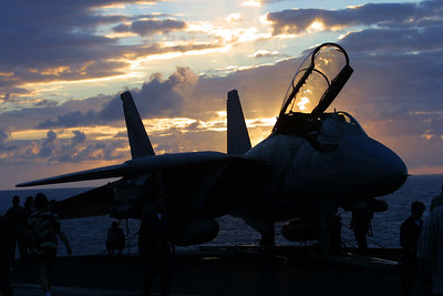 F-14 at Sunset