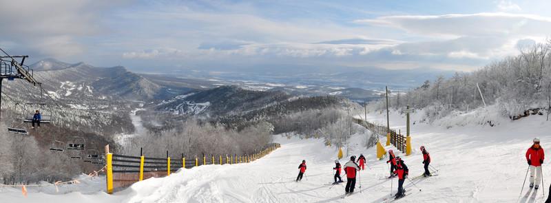 Fresh snow - Massanutten Ski Resort