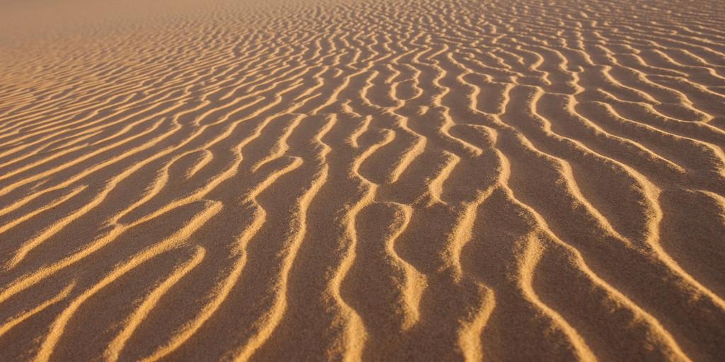 Sand dunes of the Sahara in Libya