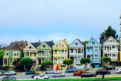 Painted Ladies, Alamo Square, San Francisco, California