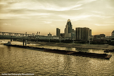 Sunset, Cincinnati, Ohio