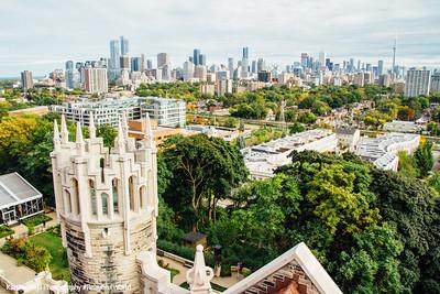 Skyline view, Toronto, Canada