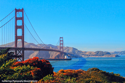 Golden Gate Bridge, Golden Gate National Recreation Area, San Francisco, California