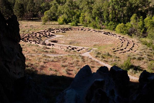 Tyuonyi Village Ruins - Bandelier National Monument
