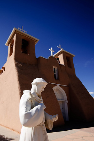 Church of San Francisco de Asis - Rancho de Taos, New Mexico