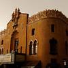 The Lensic Theater in a Rainstorm - Santa Fe