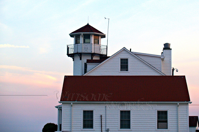 Keeper's house at Point Judith Light, RI