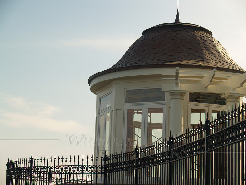 Cupola along the Cliff Walk, Newport