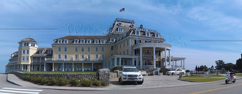 """Ocean House"" Inn Panoramic, Watch Hill RI"