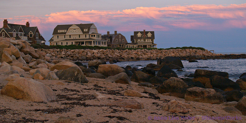Weekapaug Beach, Rhode Island - dusk, looking Northeast