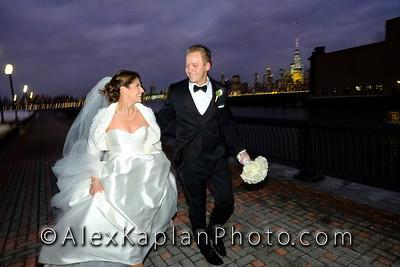 Wedding at the Chart House, Weehawken, NJ