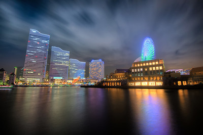 Yokohama City Lights