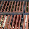 2006 Washington Pen Show.  Some of the antique fountain pens on display by Bert heiserman.