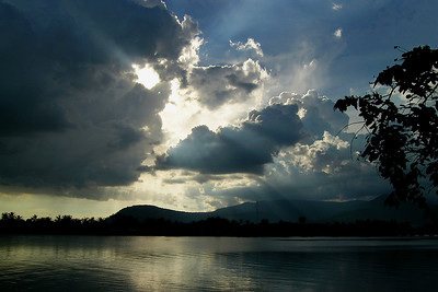 Kampot - Dark Evening Clouds