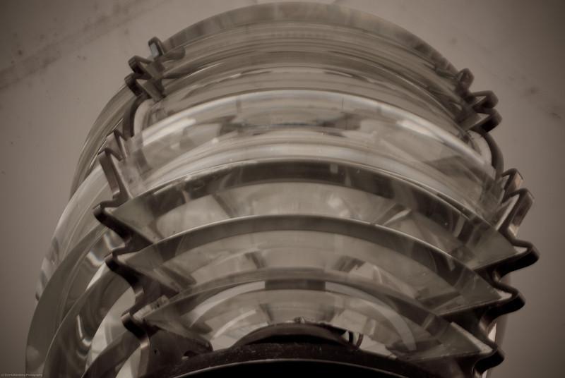 Mukilteo lighthouse lens.