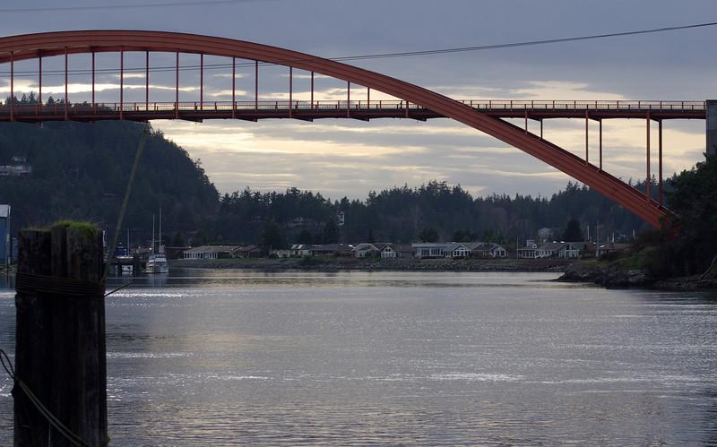 La Conner bridge, La Conner, Washington.