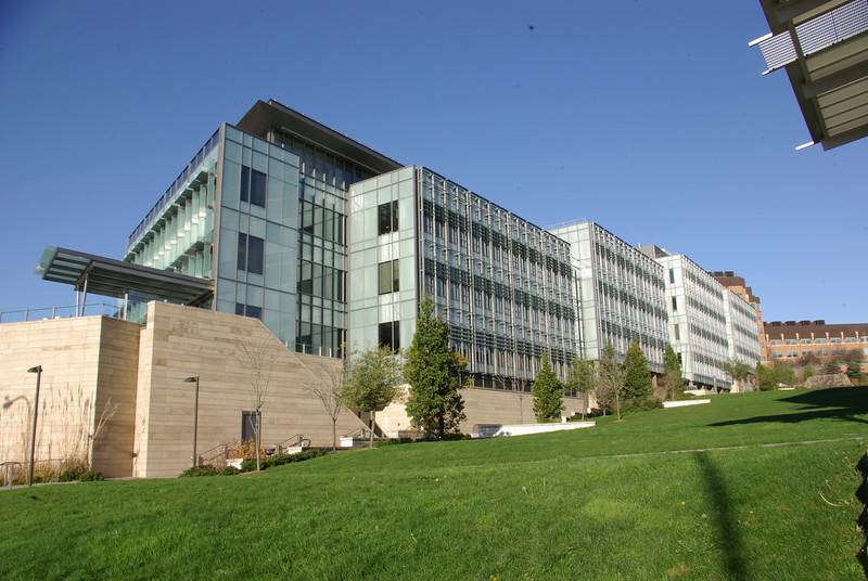 William H. Foege Hall building, south campus University of Washington, Seattle, Washington.