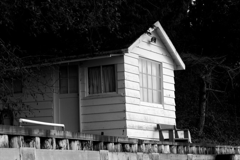 beach house. Camano Island, Washington.