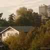 Fall in the city. Seattle, Washington.