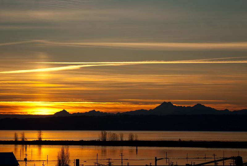 Port Gardner Bay Sunset