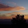 sunset at Apache Point Observatory, New Mexico. April 2009