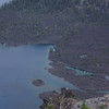 part of the island in Crater Lake. August 2008