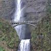 Multnomah Falls, Columbia Gorge, Oregon.  February 2009