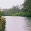 Fishing river near Ocean Shores, July 2007.