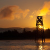 "Tower at Dawn. Ilwaco, WA; Sturgeon charter. <a href=""http://www.seabreezecharters.net/"">http://www.seabreezecharters.net/</a>"