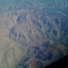 Grand Canyon from the air, descending into Phoenix, AZ, April 2009