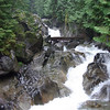 Upper Deception Falls, Ty River, Highway 2. Summer 2008