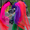 Scarf Man.  Drumming festival at Seattle Center, April 2008