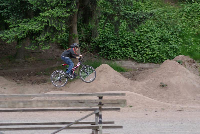 Lower Woodland Park bike area