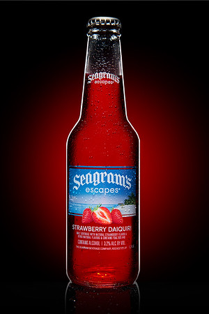 Seagram's Escapes Beverage Photography