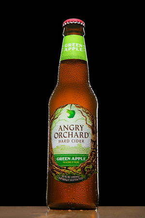Angry Orchard Hard Cider Beverage Photography