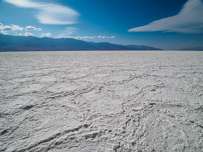 Afternoon in the Badwater Basin