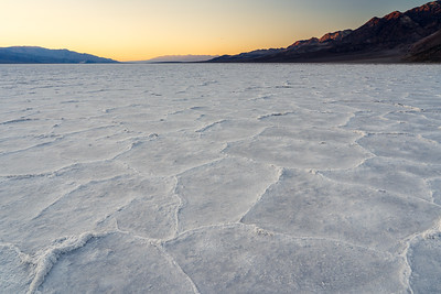 After Sunset at Badwater Basin I
