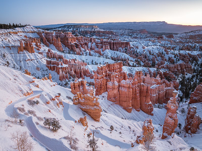 Bryce Canyon after Snowfall