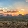 Big Bend Sunset