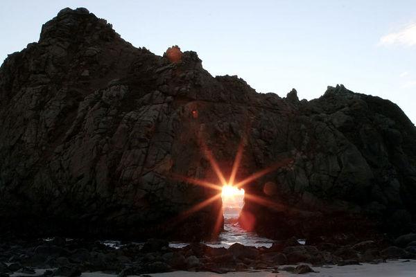 A_Sunset door