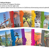Overview of Glama Divider Pages Showcasing Iconic Images from California