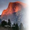 Glama Divider Page of the Half Dome at Yosemite
