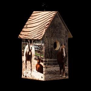 Farm Animals Birdhouse