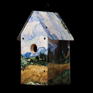 van Gogh's Wheatfields Birdhouse